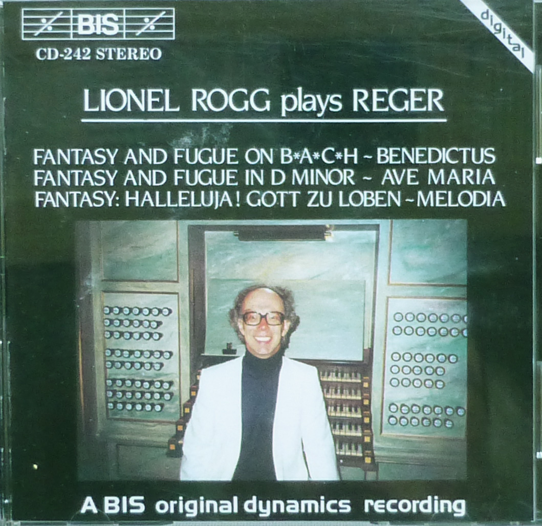Discographie Lionel Rogg
